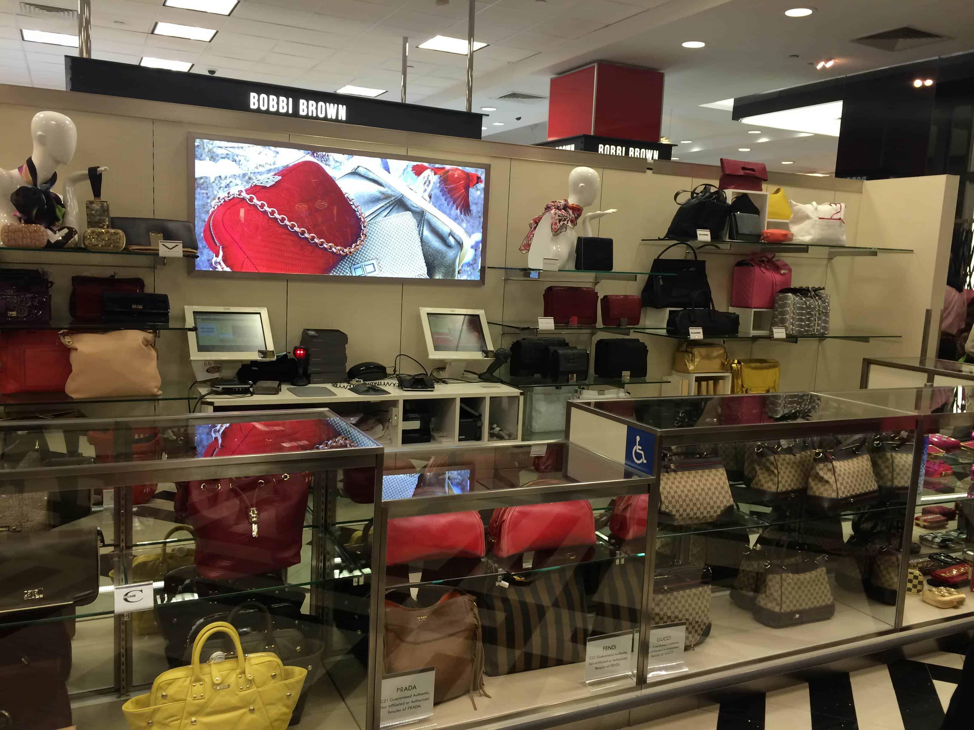 Century 21 - один из легендарных шоппинг моллов в Нью-Йорке