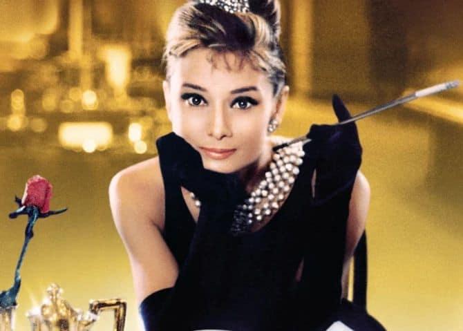 Одри Хепберн в платье Живанши