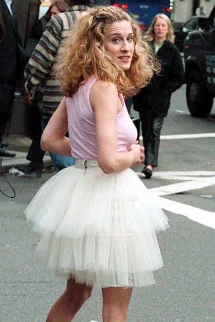 Кэрри Брэдшоу в платье Tutu & Tank Combo